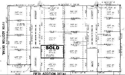 Land for Sale at Lot 60 Center Street Mazon, Illinois 60444 United States