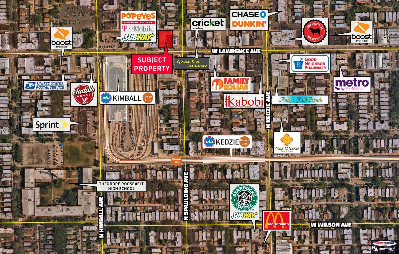 Land for Sale at 3306 W Lawrence Avenue Chicago, Illinois 60625 United States