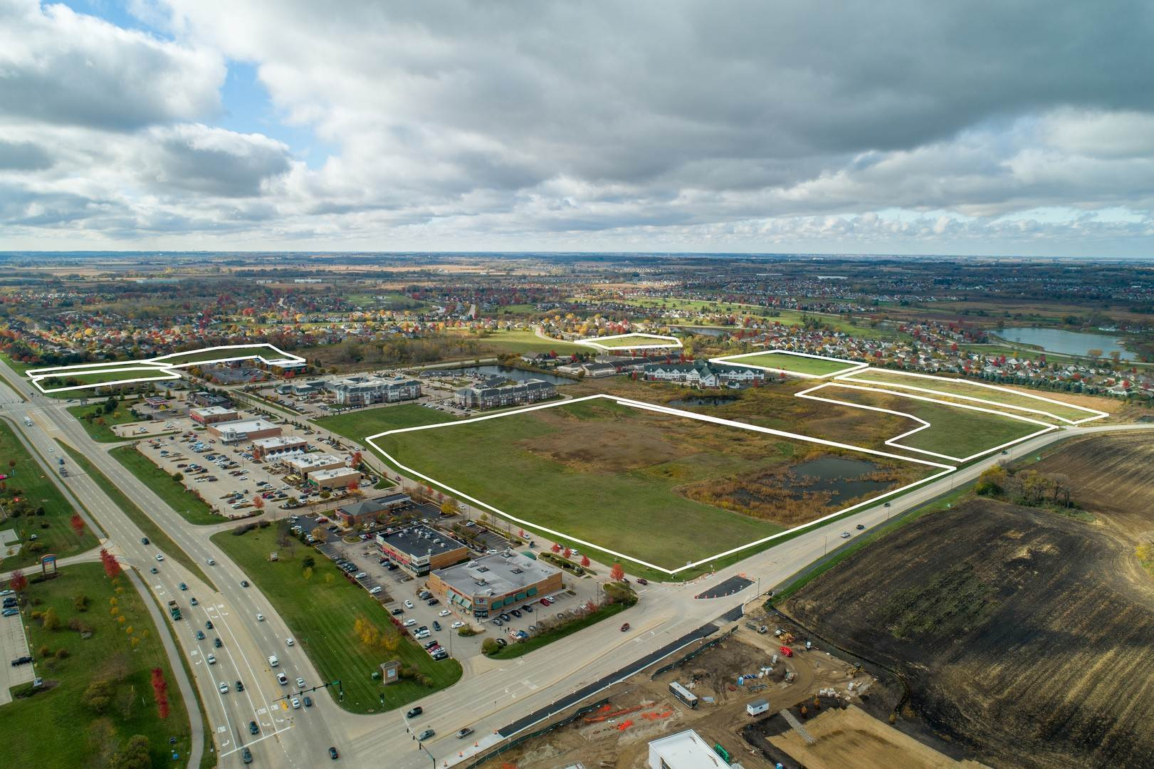 Land for Sale at Kreutzer Road & Princeton Drive Road Huntley, Illinois 60142 United States