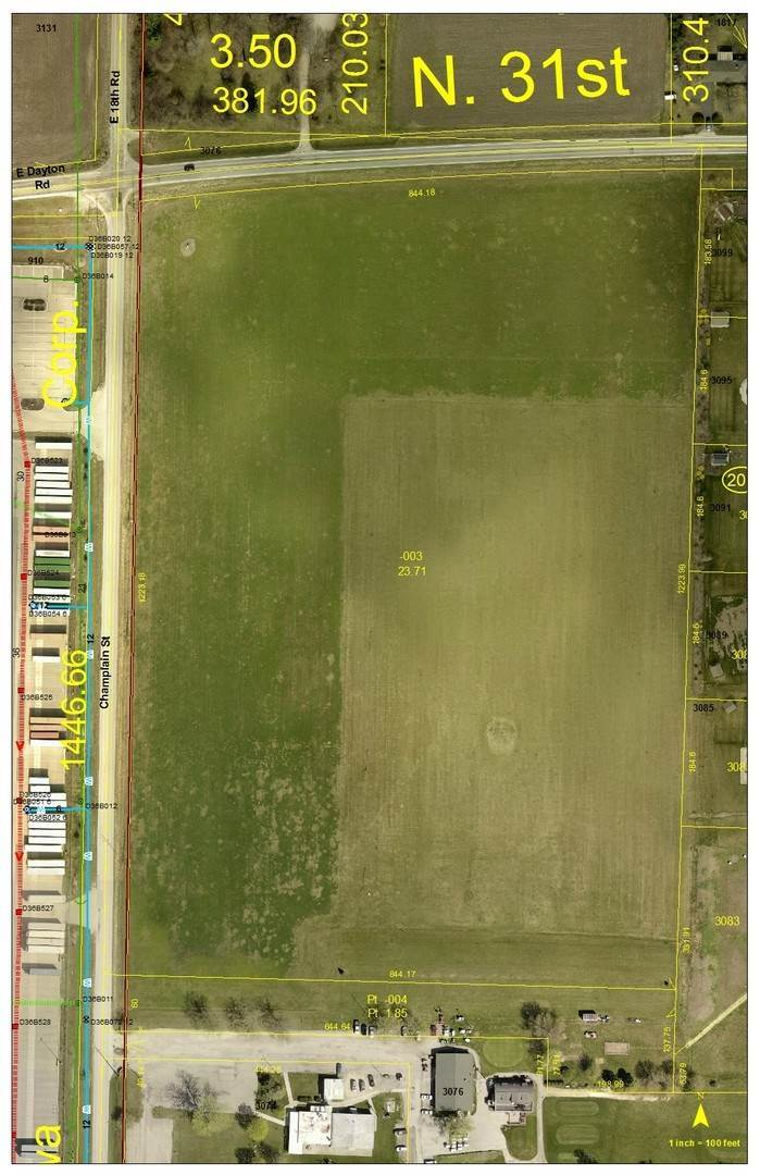 Land for Sale at 3076 E 18th Road 18th Road Road Ottawa, Illinois 61350 United States