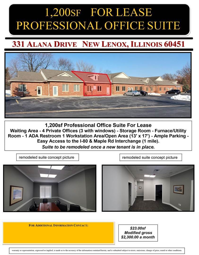 Commercial الساعة 331 Alana Drive New Lenox, Illinois 60451 United States