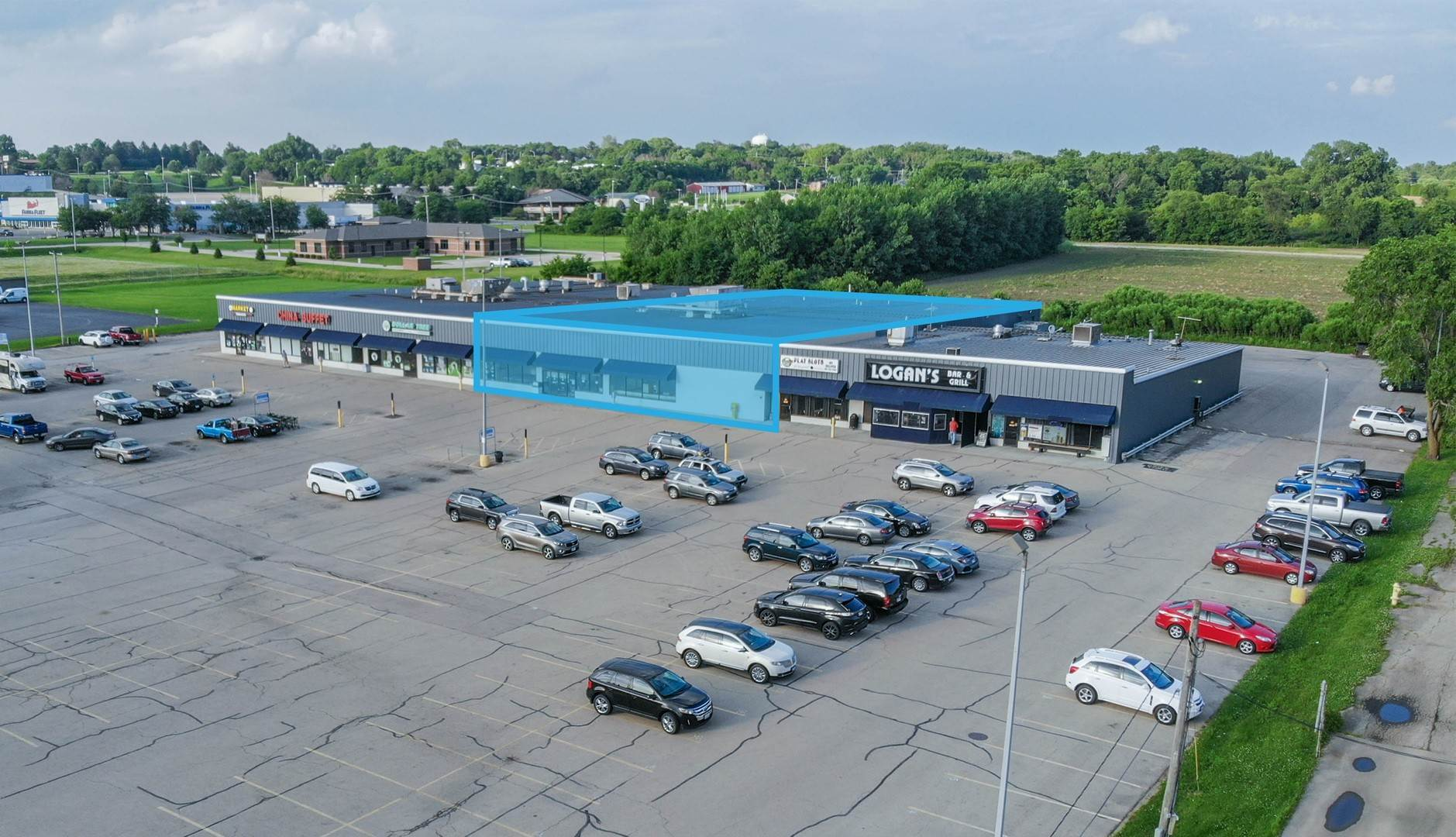 Commercial à 1801 S West Avenue Freeport, Illinois 61032 États-Unis
