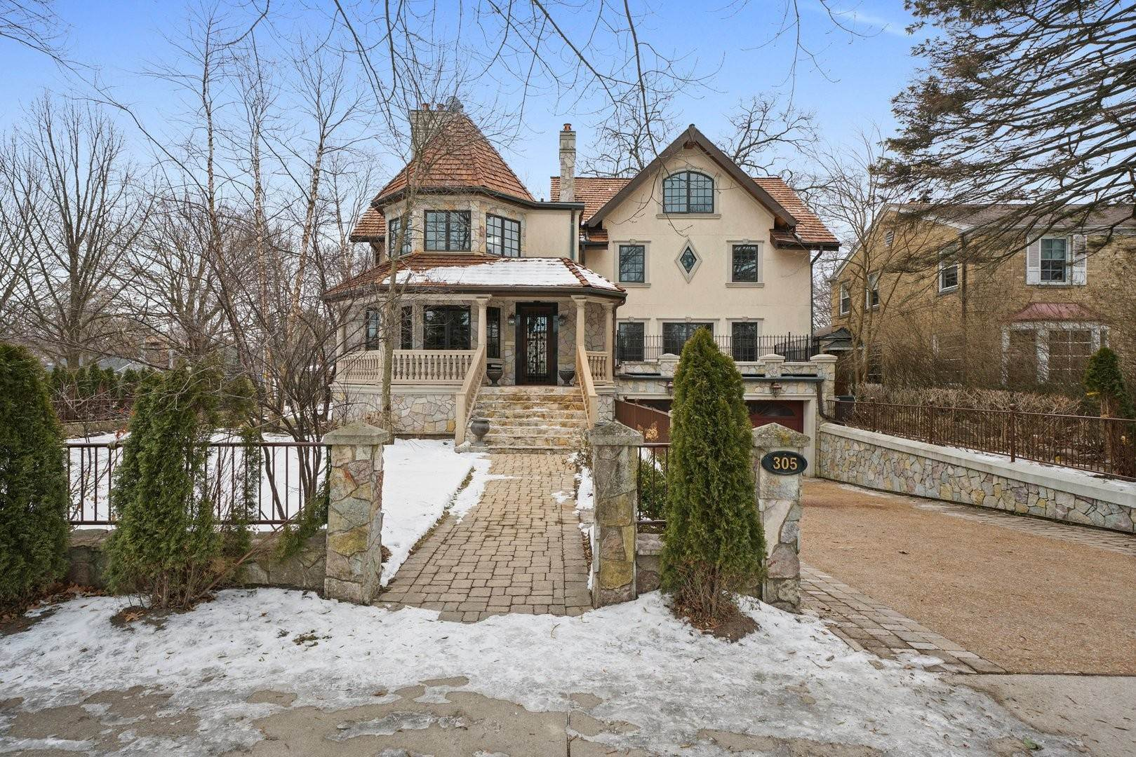 Single Family Homes for Sale at 305 Central Avenue Wilmette, Illinois 60091 United States