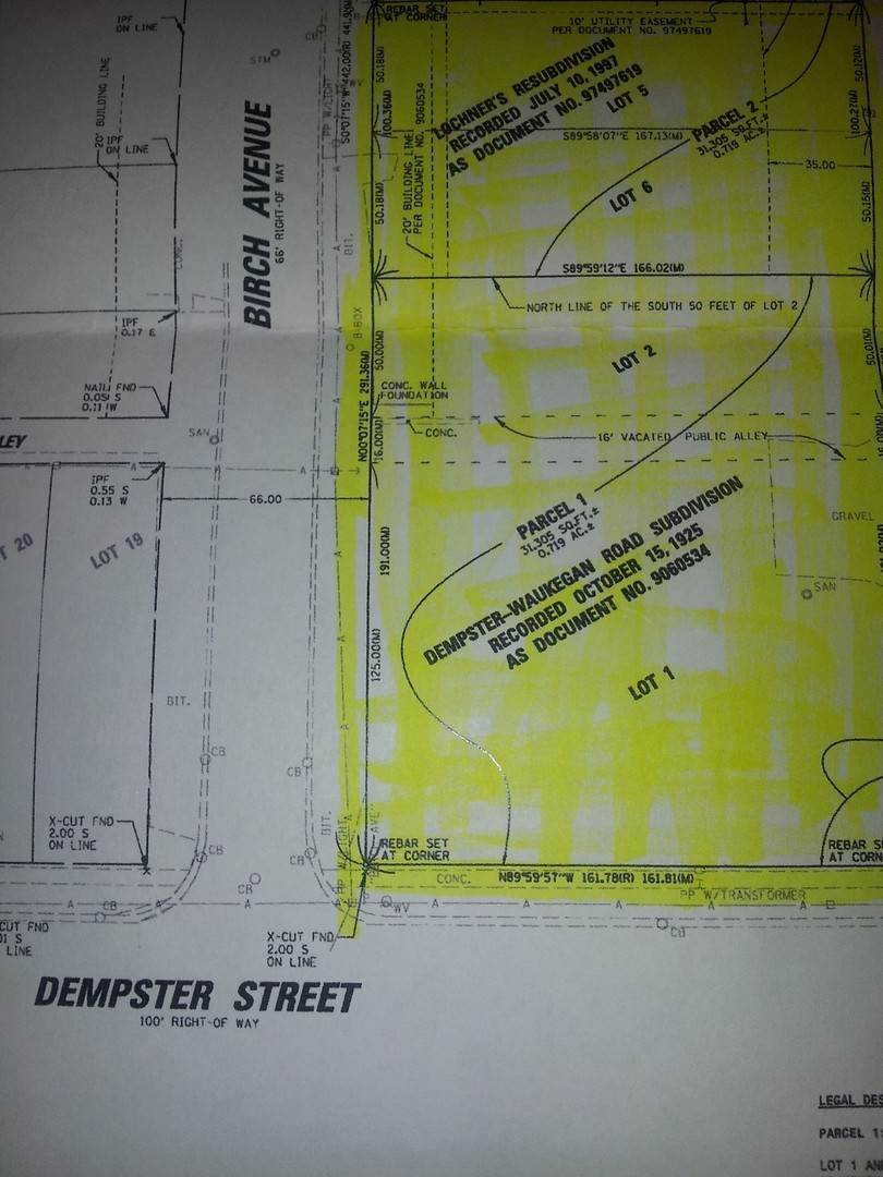 Land for Sale at 6724 Dempster Street Morton Grove, Illinois 60053 United States