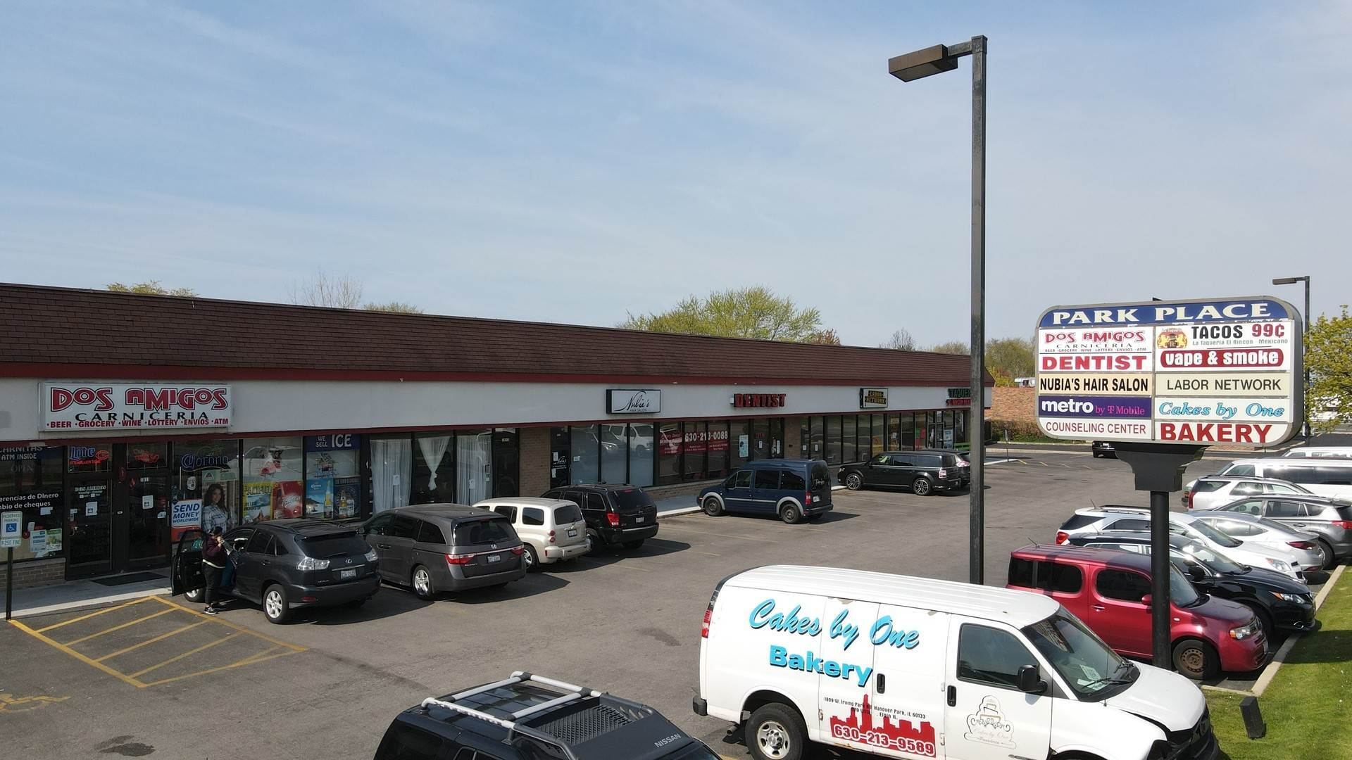 Commercial for Sale at 1804-1816 Irving Park Road Hanover Park, Illinois 60133 United States