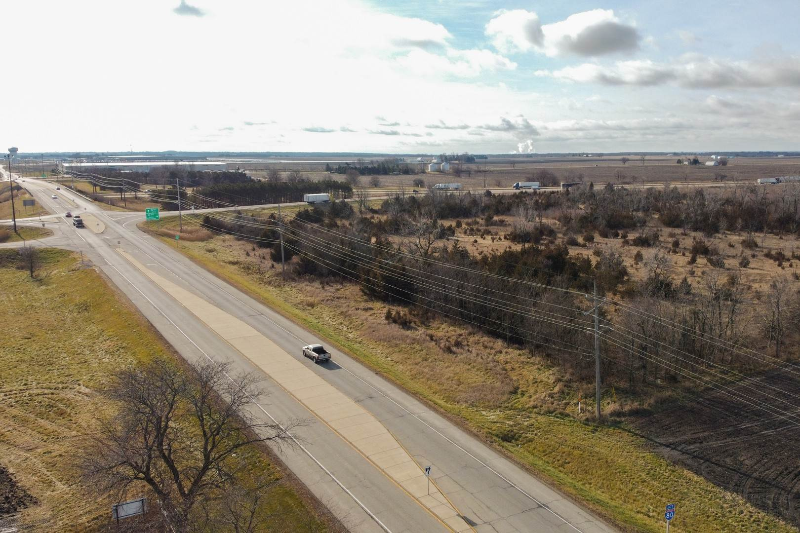 Land for Sale at Nw Rt 80 & Rt 89 Ladd, Illinois 61329 United States