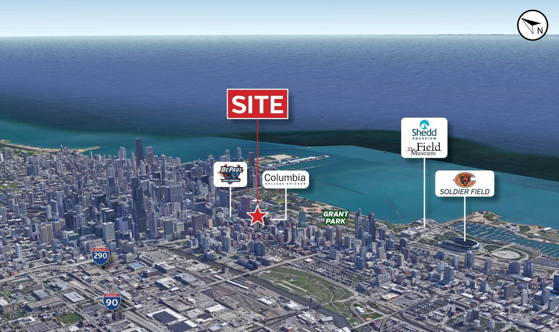 Commercial for Sale at 633 S Plymouth Court Chicago, Illinois 60605 United States