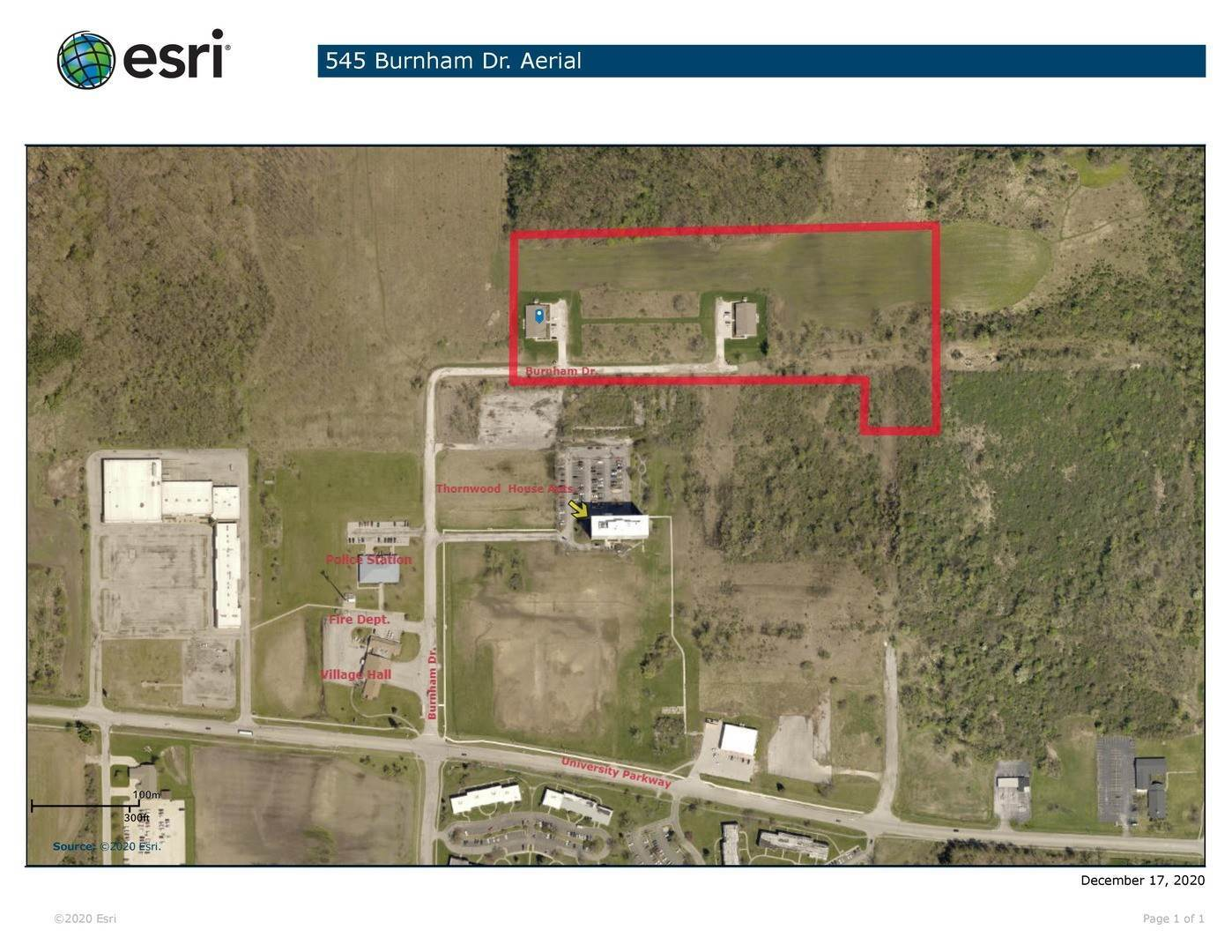 Land for Sale at 545 Burnham Drive University Park, Illinois 60484 United States