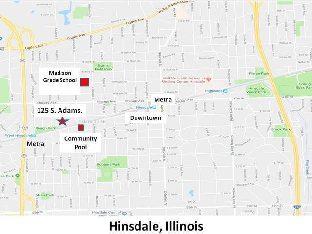Land for Sale at 125 S Adams Street Hinsdale, Illinois 60521 United States