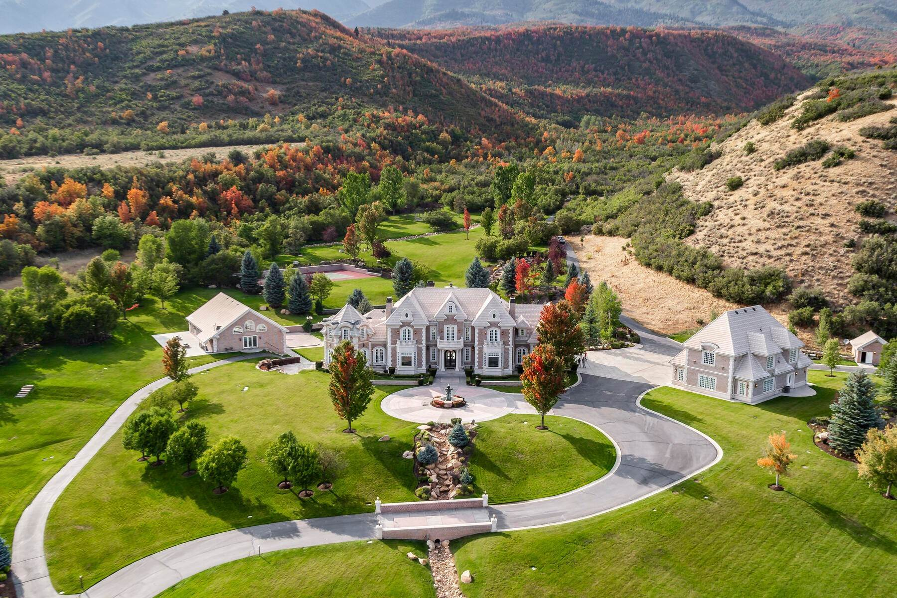 Farm and Ranch Properties for Sale at Hobble Creek Ranch—Luxury Estate on 3,387 Acres 533 N Left Fork Hobble Creek Cyn Springville, Utah 84663 United States