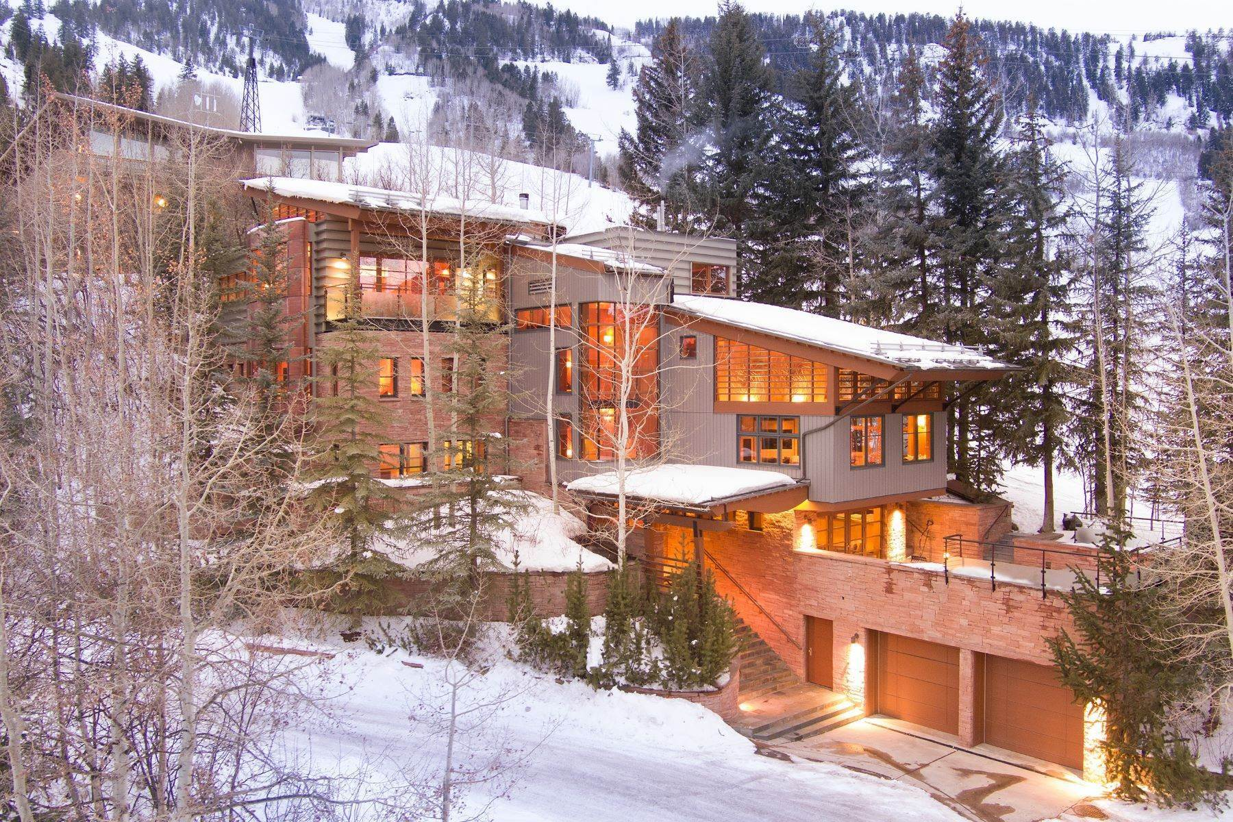 Single Family Homes for Sale at The House on Little Nell 550 Aspen Alps Road Aspen, Colorado 81611 United States