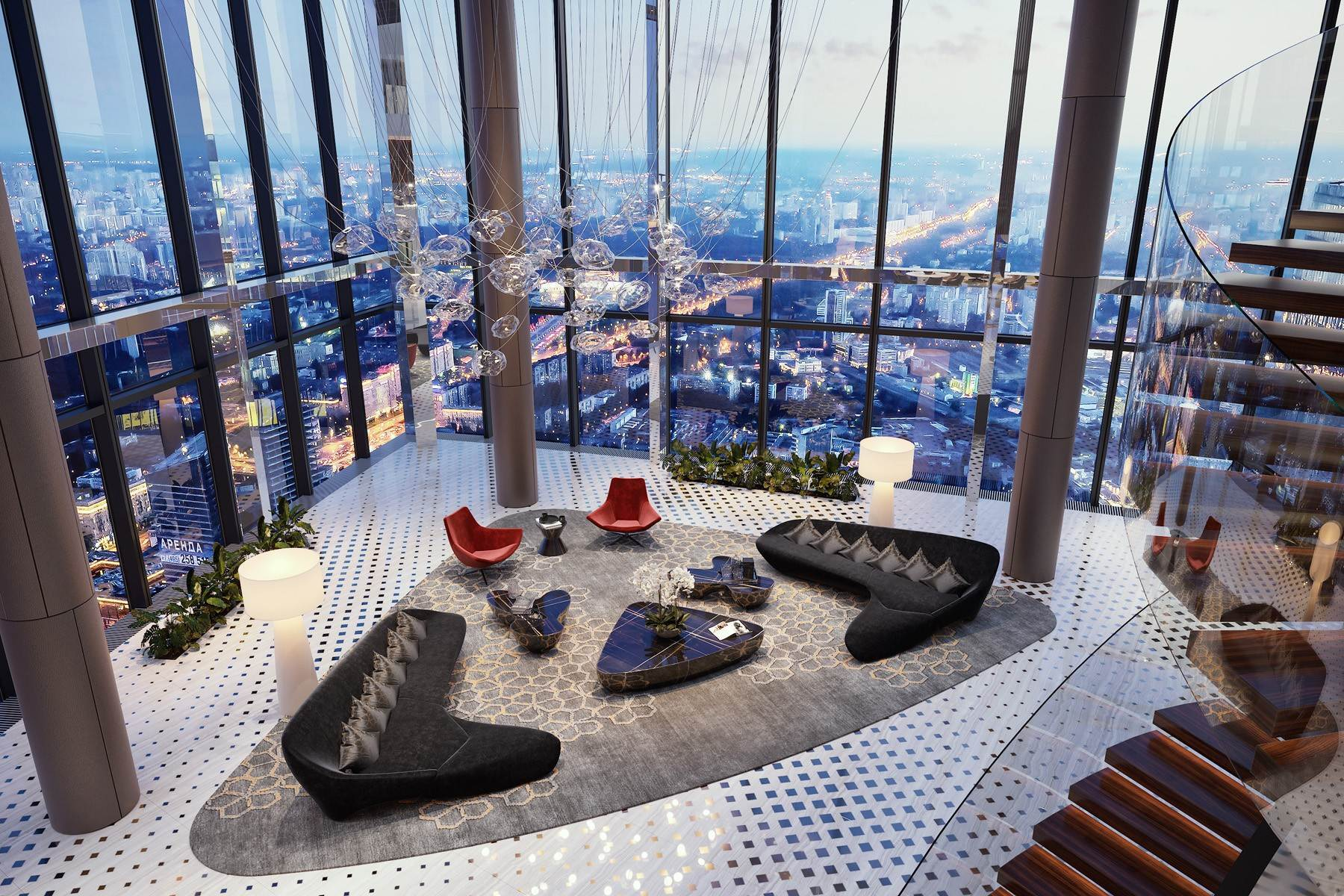 Apartments for Sale at APARTMENTS IN THE FEDERATION TOWER-EAST IN MIBC MOSCOW CITY Moscow, Moscow Russia