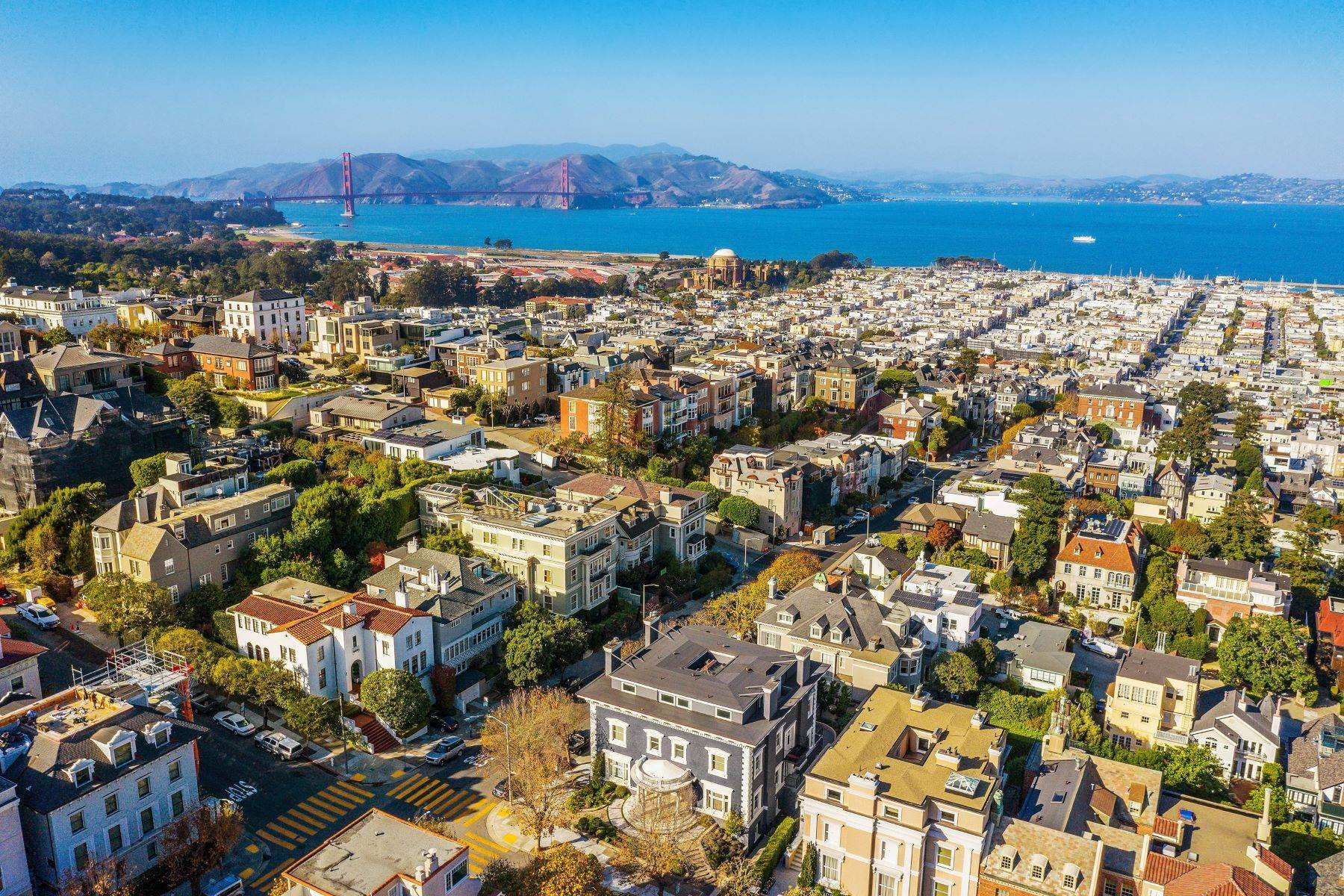 Property for Sale at Timeless And Glamorous Pacific Heights Designer Masterpiece 2698 Pacific Avenue San Francisco, California 94115 United States