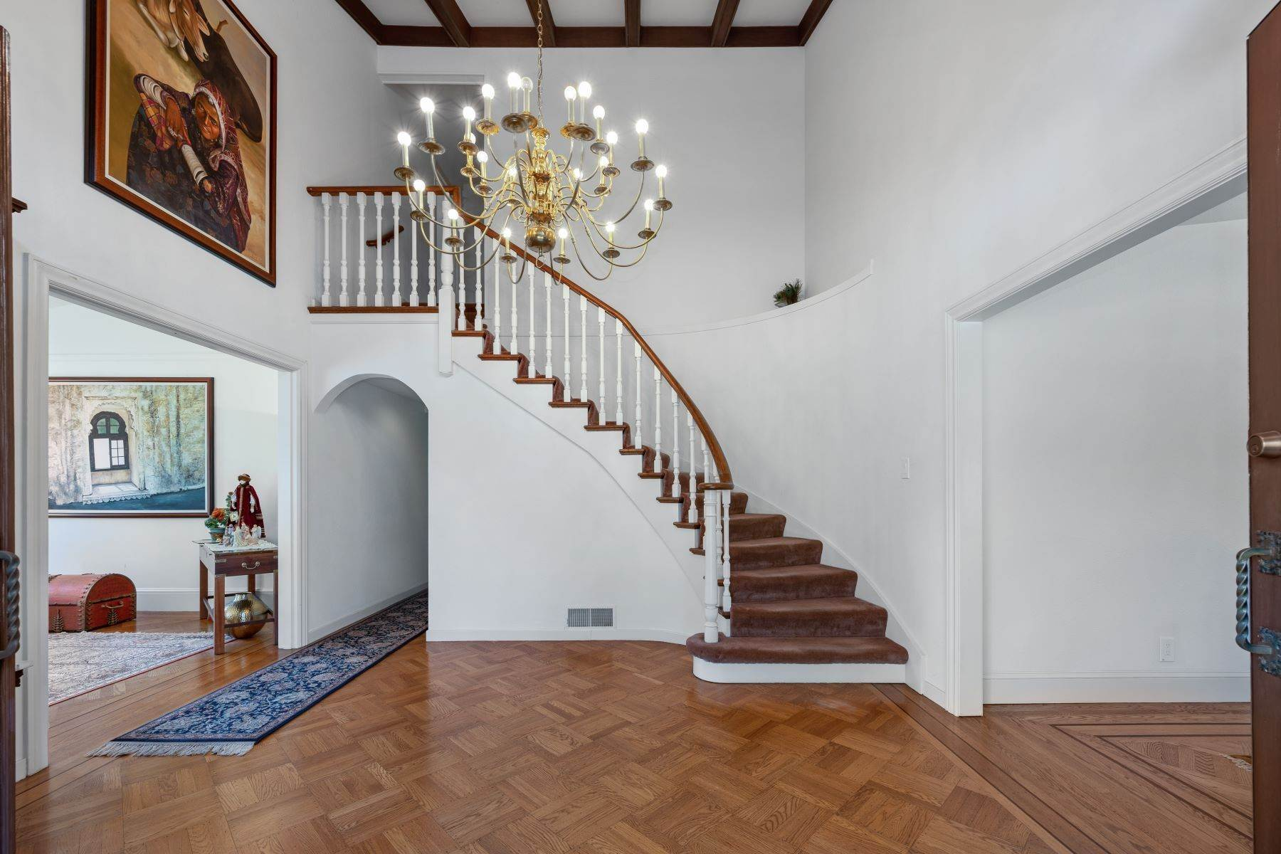 Single Family Homes for Sale at Stunning Spanish Colonial Style Home 50 Amador Avenue Atherton, California 94027 United States