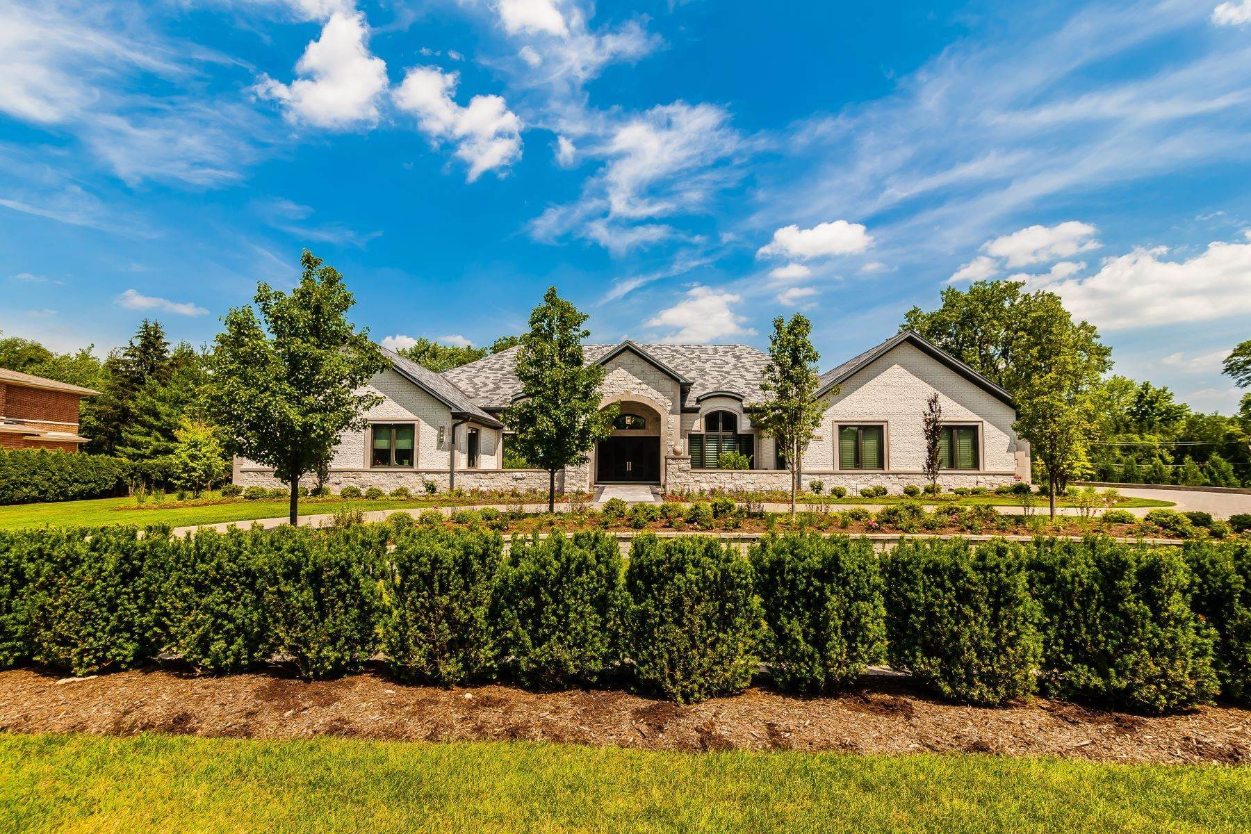 Single Family Homes for Sale at Spectacular Northbrook Home 3310 Sunset Trail Northbrook, Illinois 60062 United States