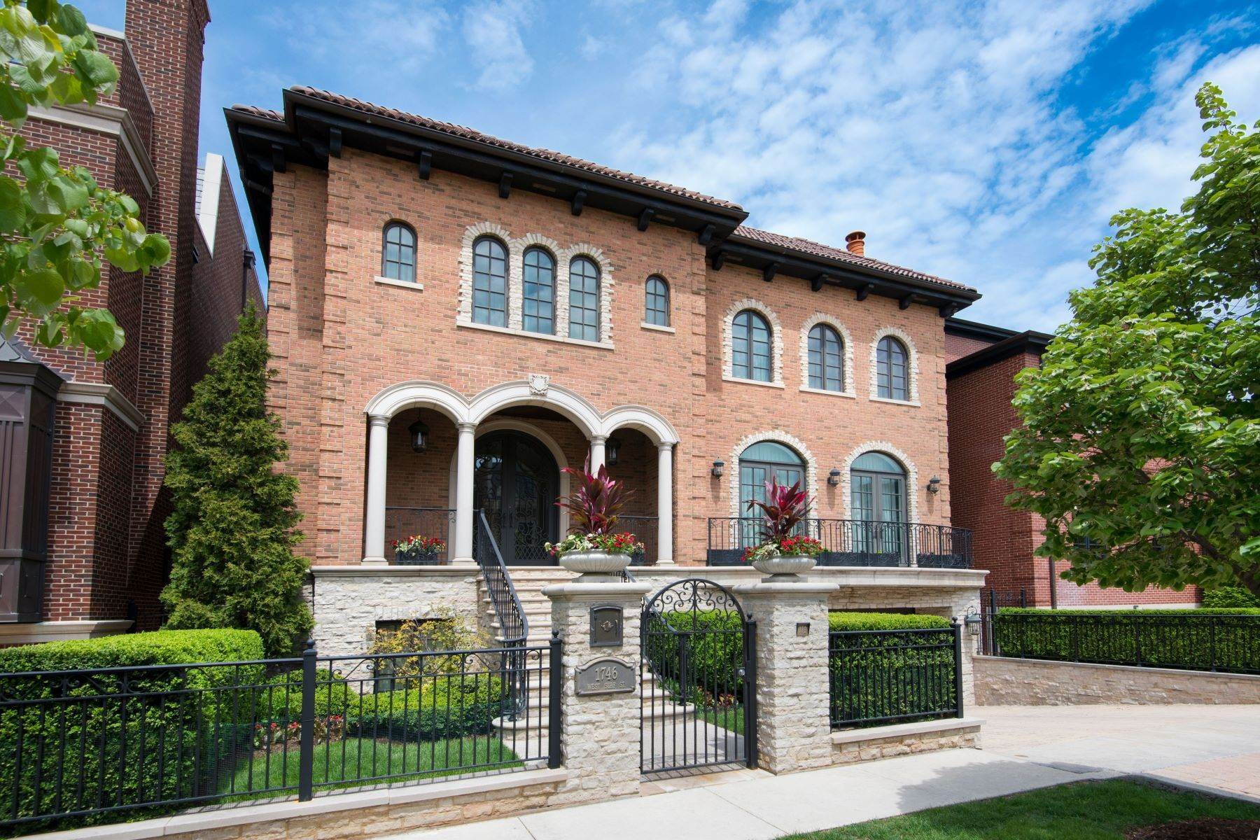 Single Family Homes for Sale at 1746 W Surf Street, Chicago, IL 60657 1746 W Surf Street Chicago, Illinois 60657 United States