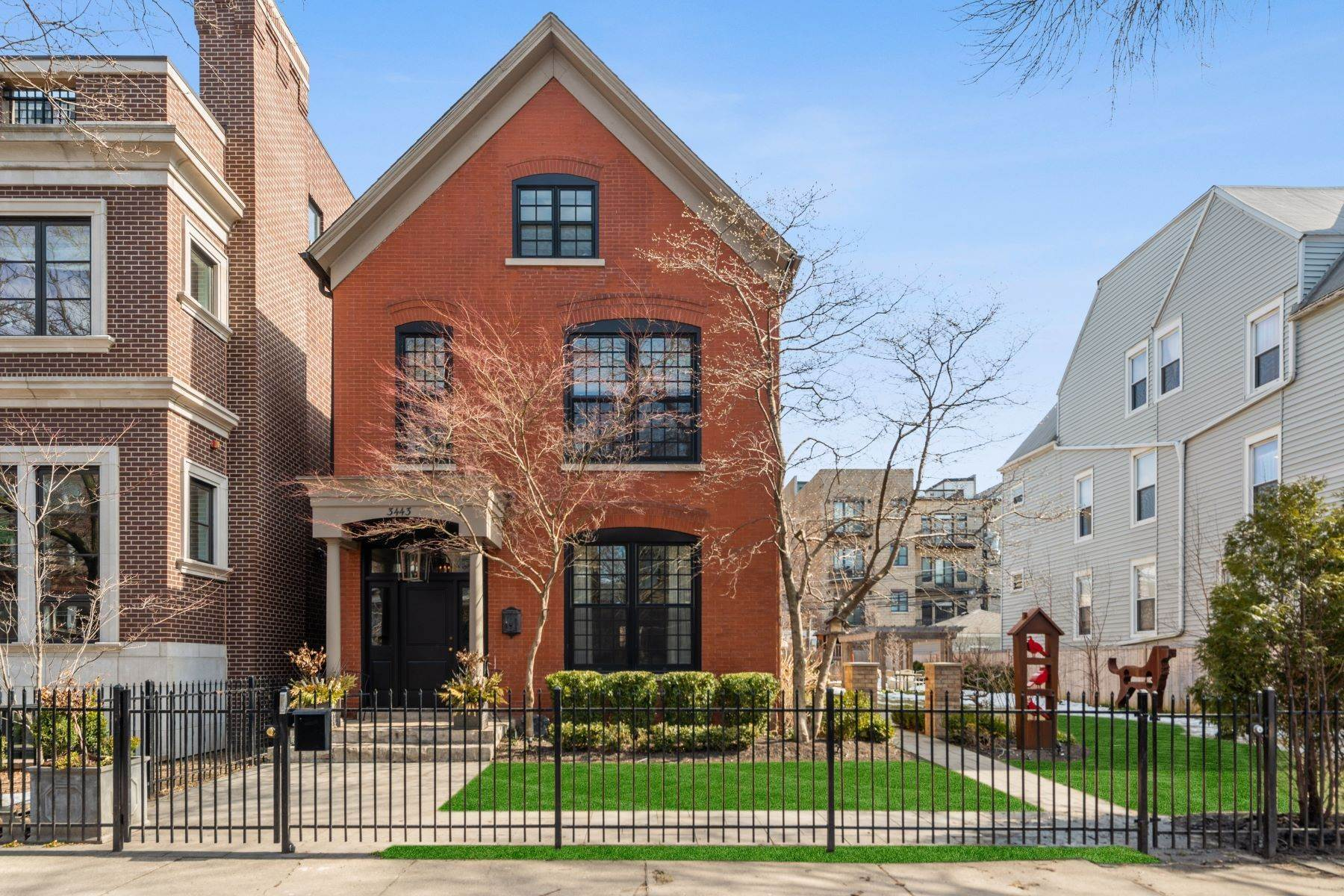 Single Family Homes for Sale at Rare Wide Lot Home 3439-43 N Janssen Avenue Chicago, Illinois 60657 United States