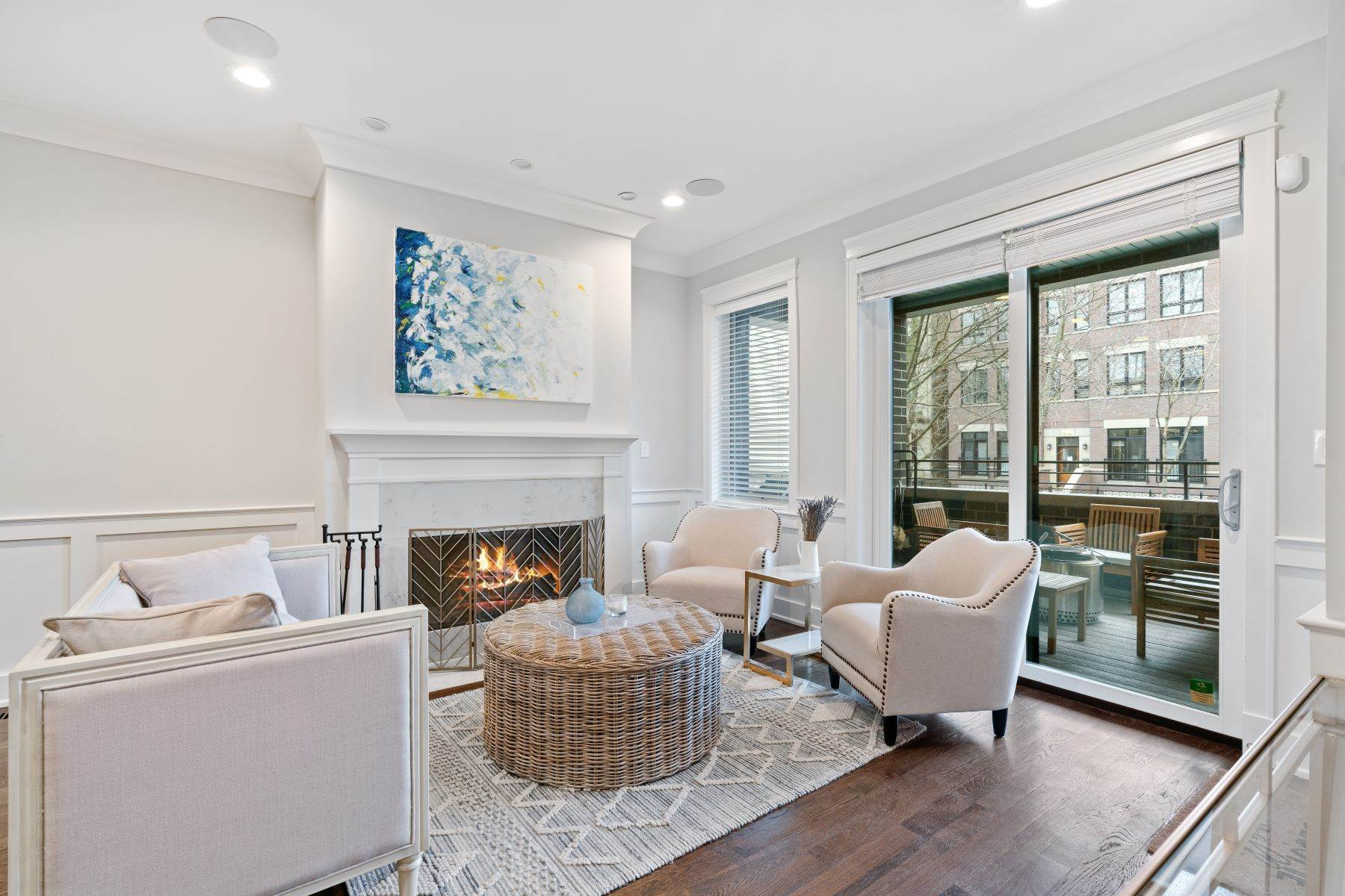 Duplex Homes for Sale at Stunning Lakeview Duplex 3414 N Seminary Avenue, Unit 1 Chicago, Illinois 60657 United States