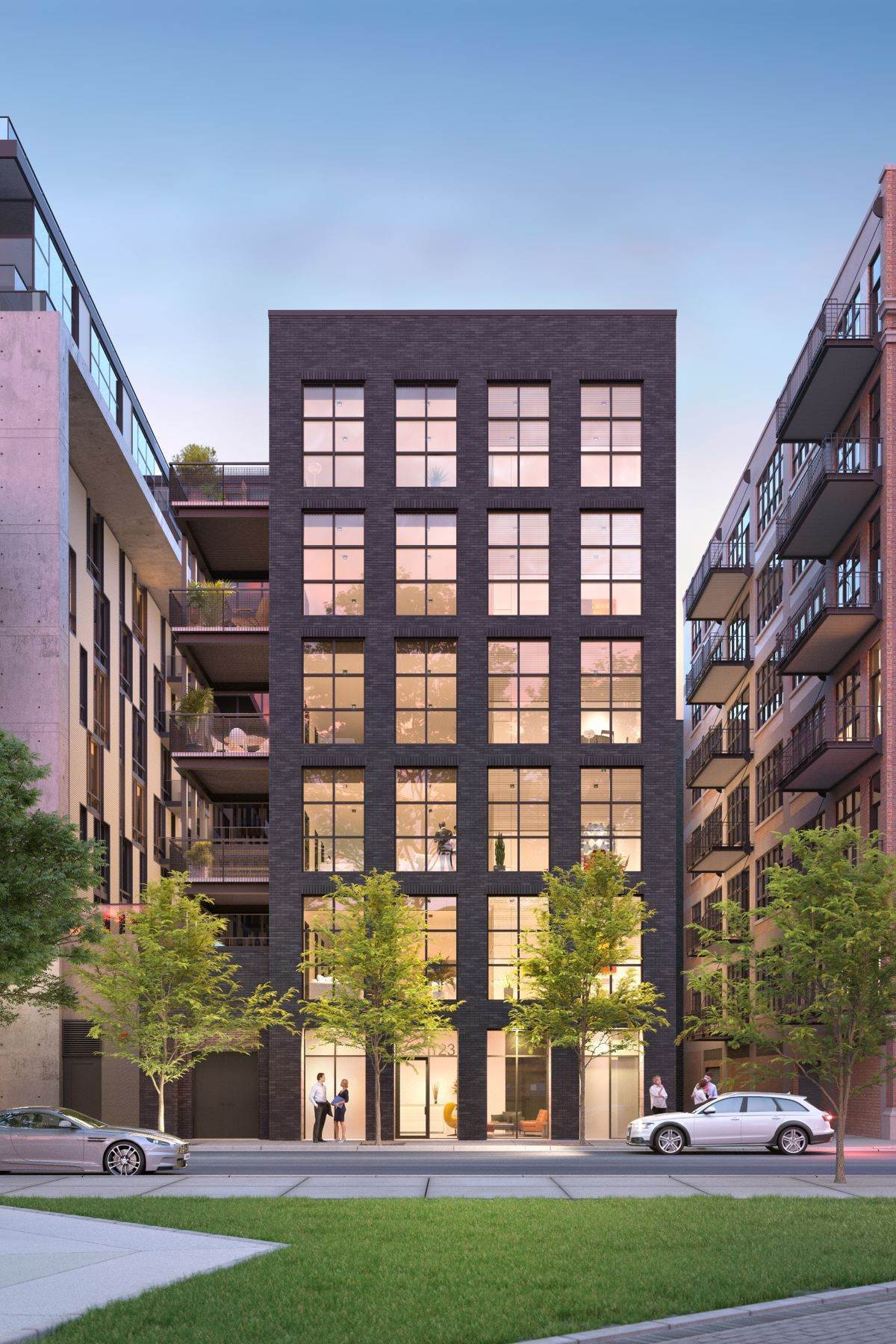 Condominiums للـ Sale في Peoria Green - West Loop New Construction 123 S Peoria Street, Unit 3P Chicago, Illinois 60607 United States