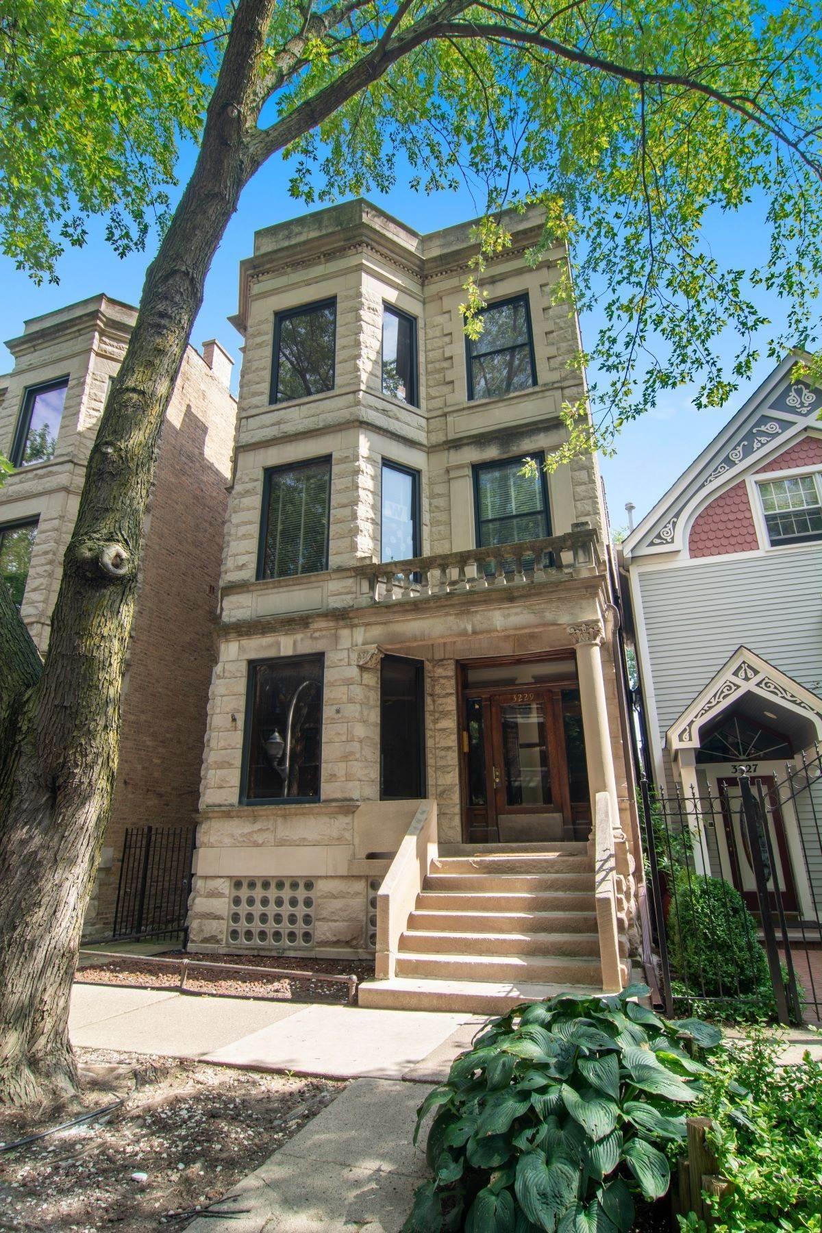 Duplex Homes for Sale at Gorgeous East Lakeview Duplex 3229 N Seminary Avenue, Unit 1 Chicago, Illinois 60657 United States