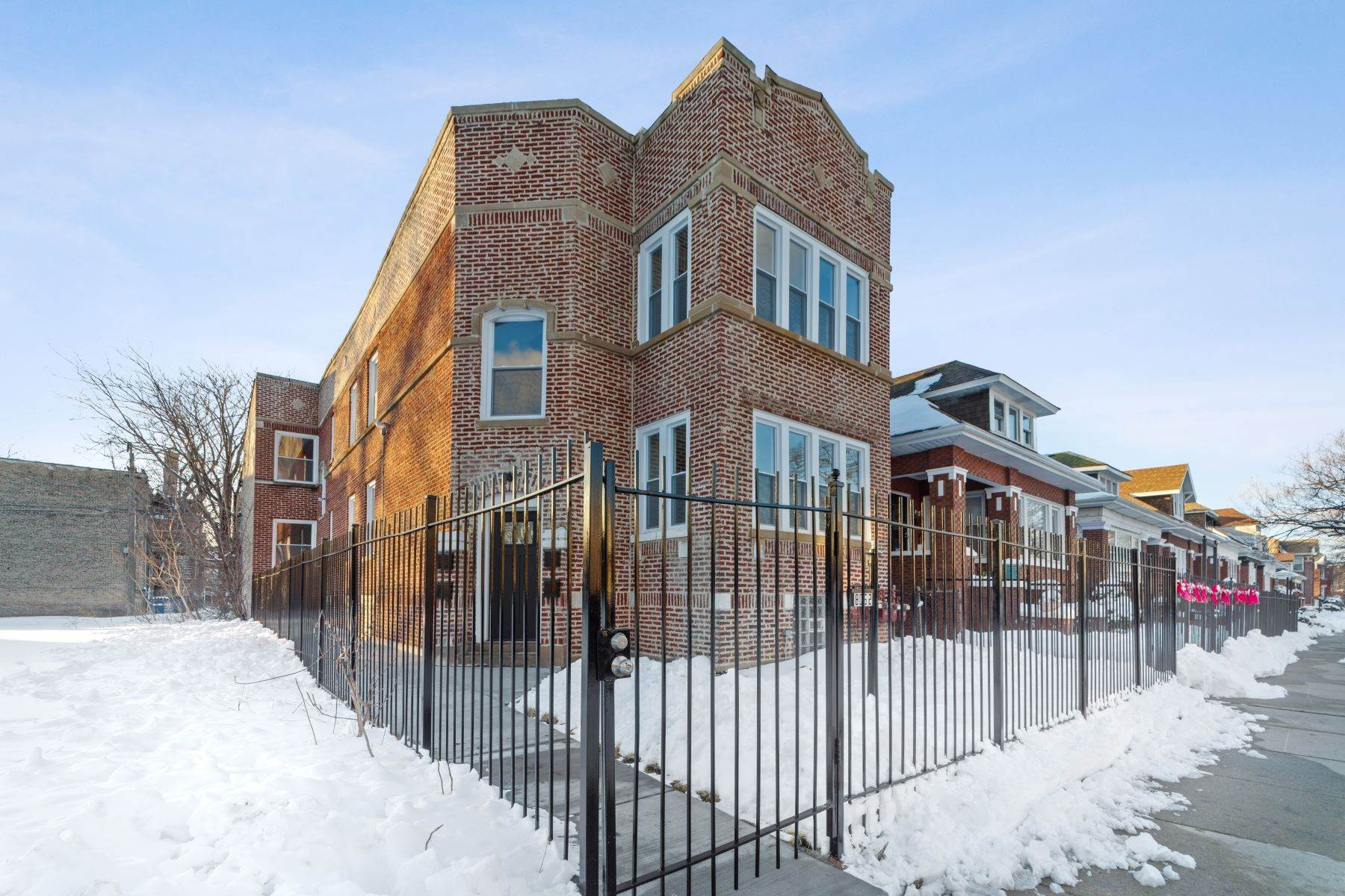 Property for Sale at Recently Rehabbed Auburn Greshan 4-Flat 8052 S Elizabeth Street Chicago, Illinois 60620 United States