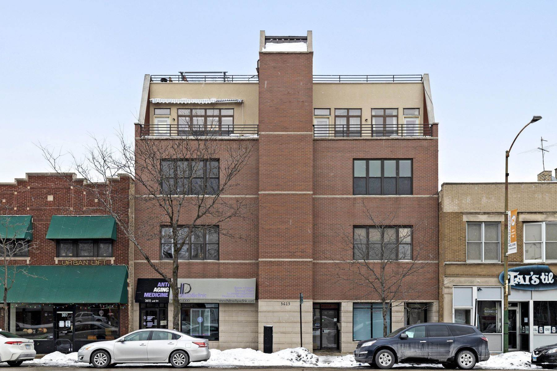 Condominiums for Sale at Own Personal Sanctuary 3615 N Ashland Avenue, Unit 3N Chicago, Illinois 60613 United States