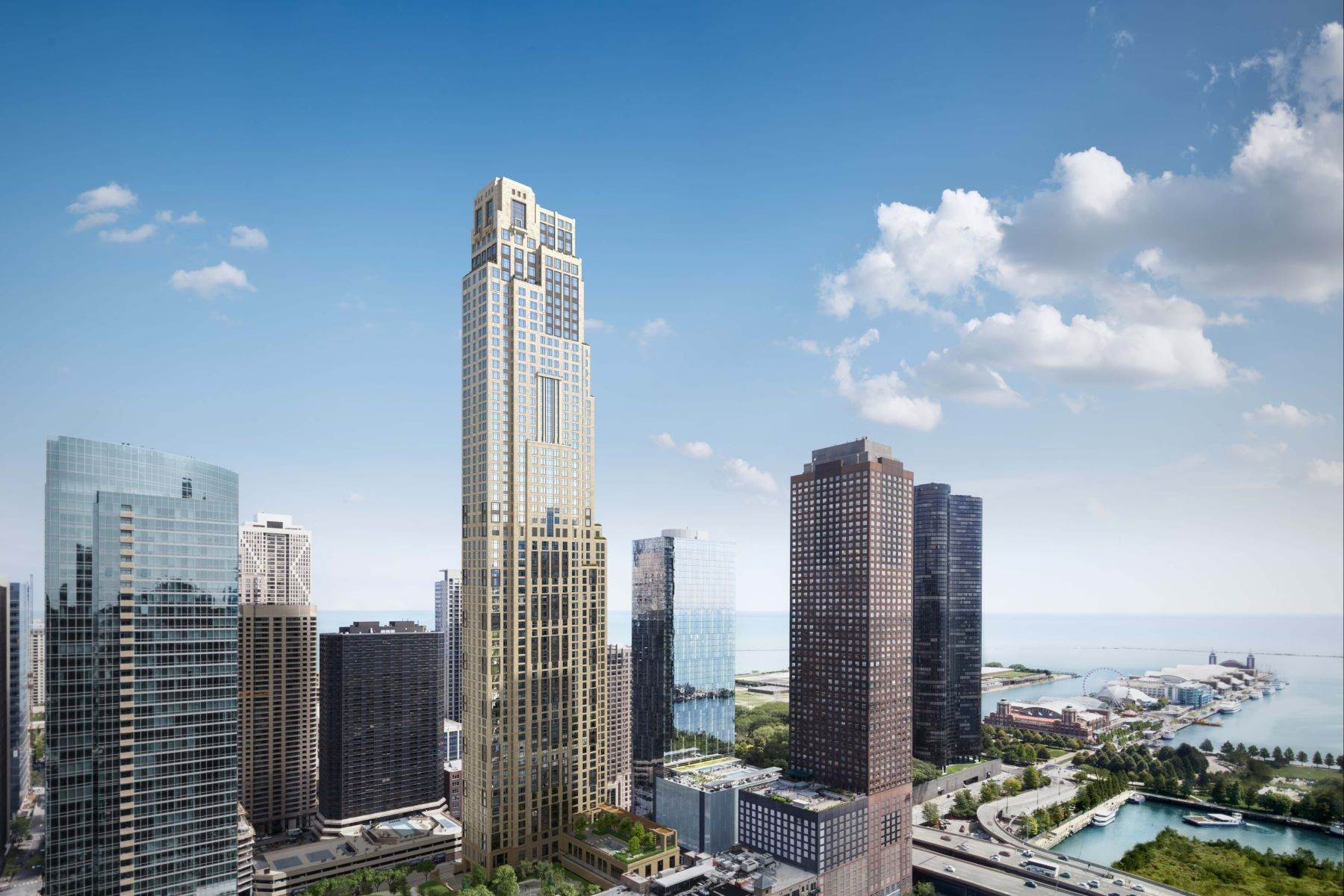 Condominiums pour l Vente à One Bennett Park 451 E Grand Avenue, Unit 5106 Chicago, Illinois 60611 États-Unis