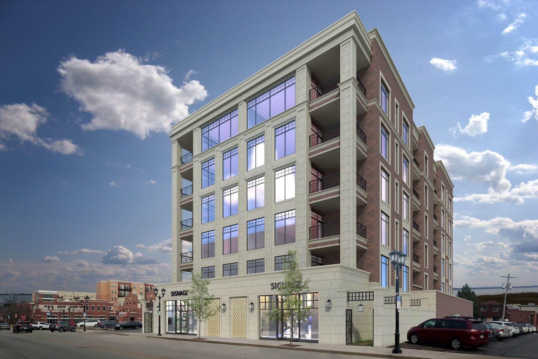 Condominiums pour l Vente à Elmhurst One95 195 N Addison Avenue, Unit 402 Elmhurst, Illinois 60126 États-Unis