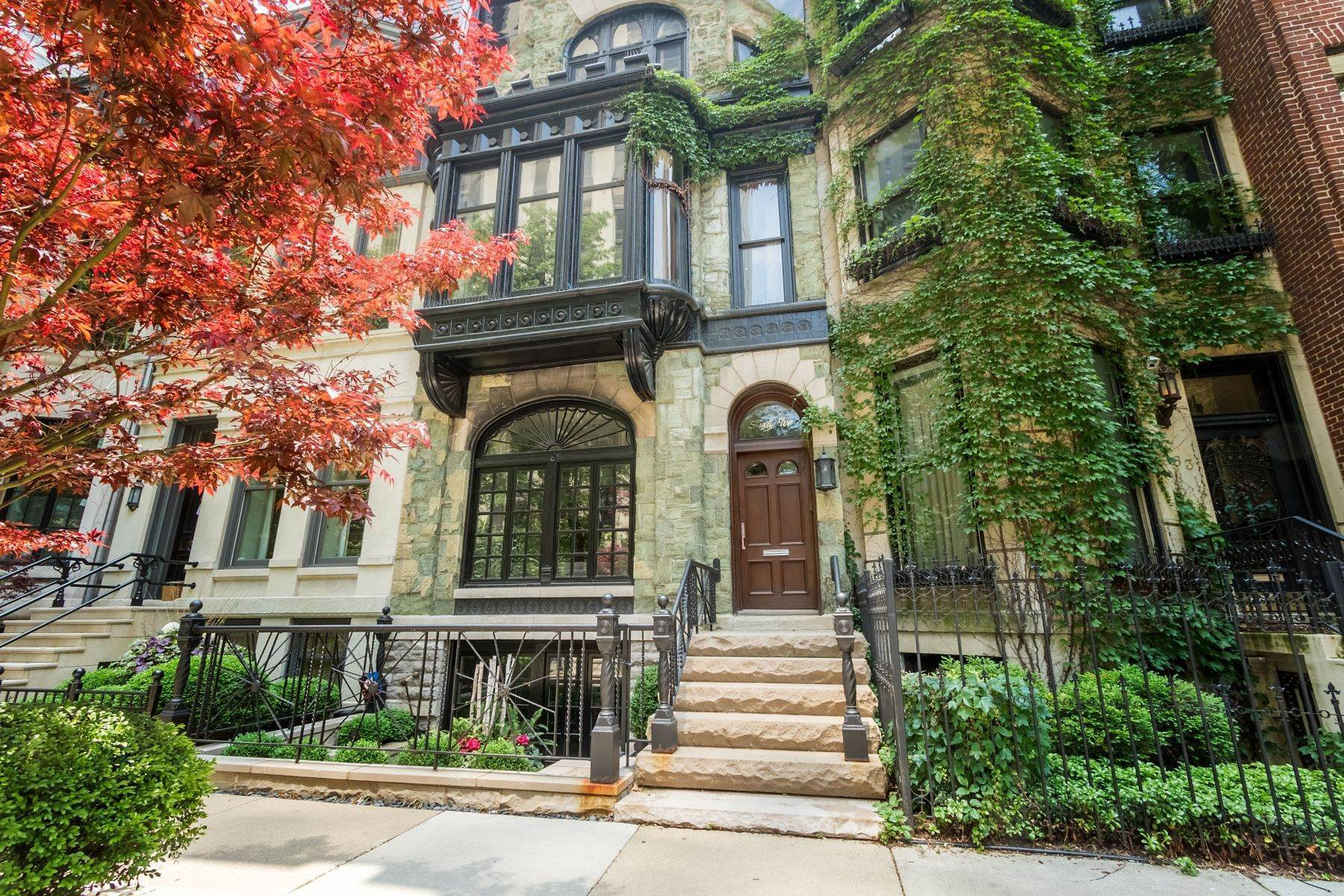 Property for Sale at Magnificent Gold Coast Rowhouse 65 E Bellevue Place Chicago, Illinois 60611 United States
