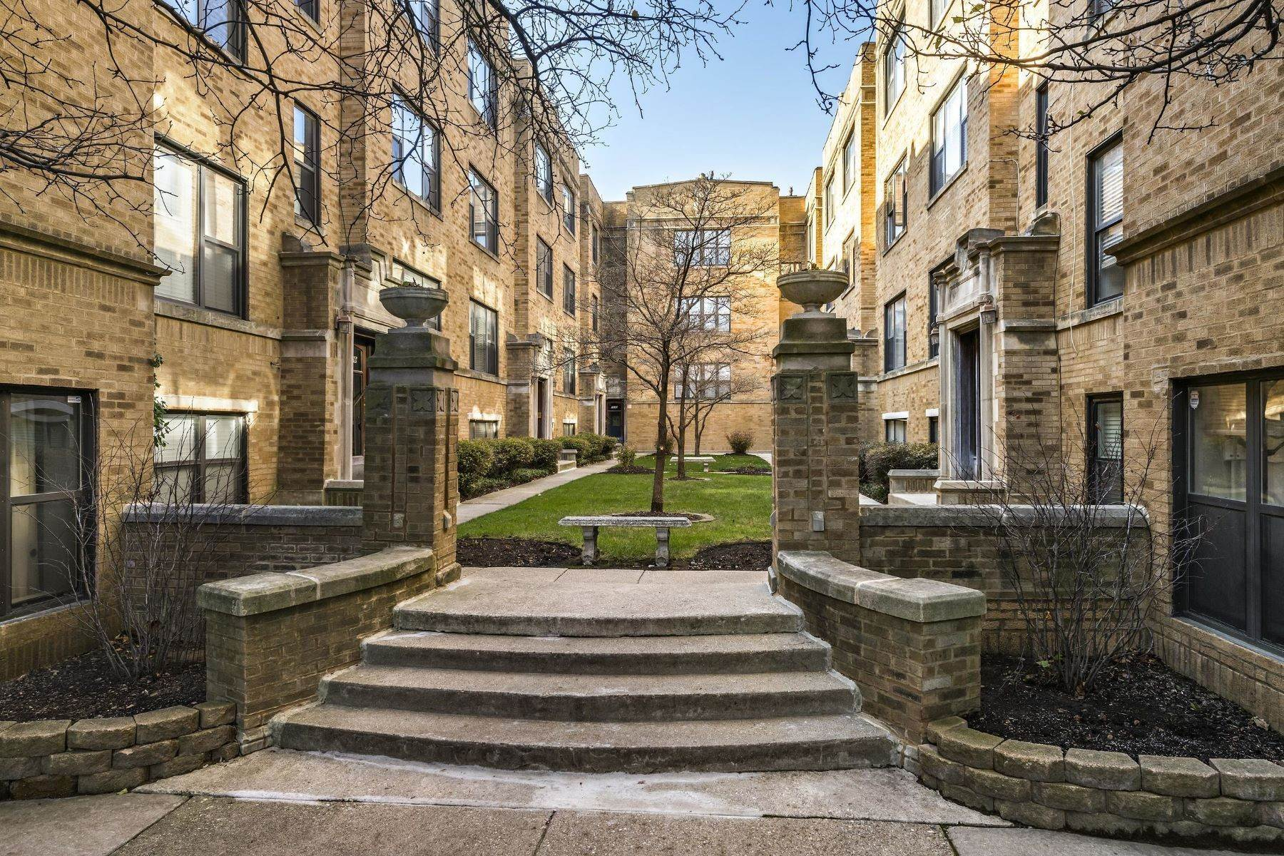 Property for Sale at Unique Duplex Down 5930 N Paulina Street, Unit 1 Chicago, Illinois 60660 United States
