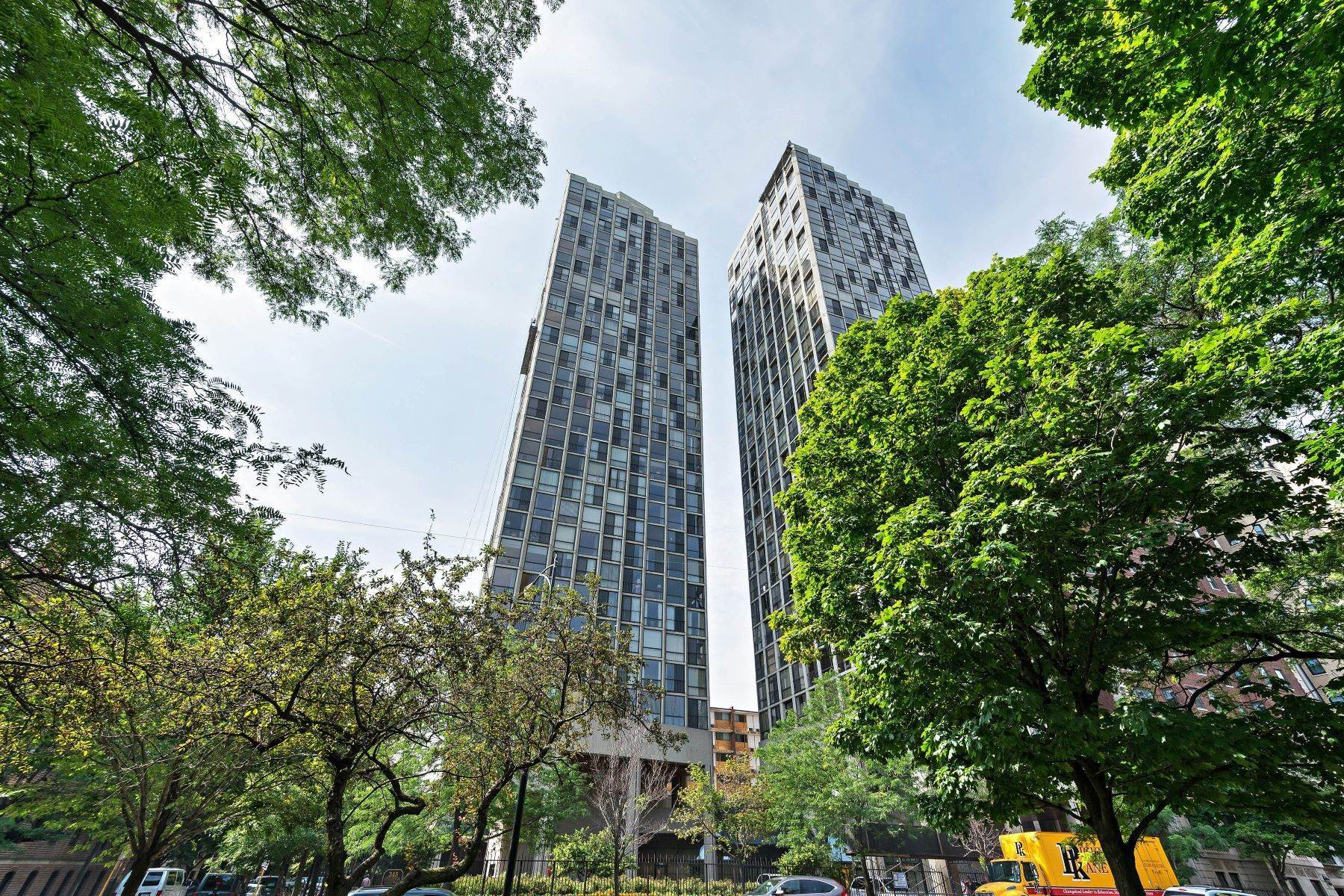 Condominiums for Sale at Sweeping Lake and City Views 345 W Fullerton Parkway, Unit 1004 Chicago, Illinois 60614 United States