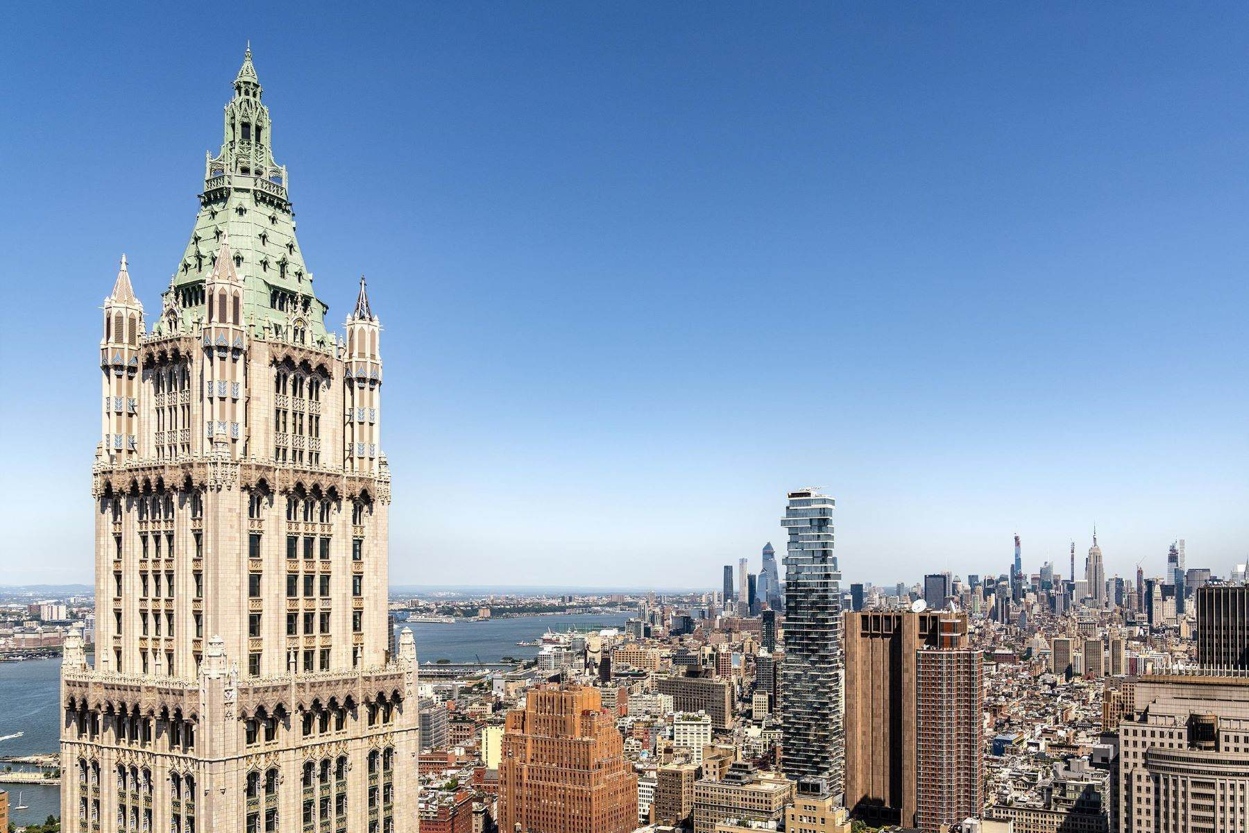 Condominiums للـ Sale في The Pinnacle Penthouse 2 Park Place, Pinnacle Penthouse New York, New York 10007 United States
