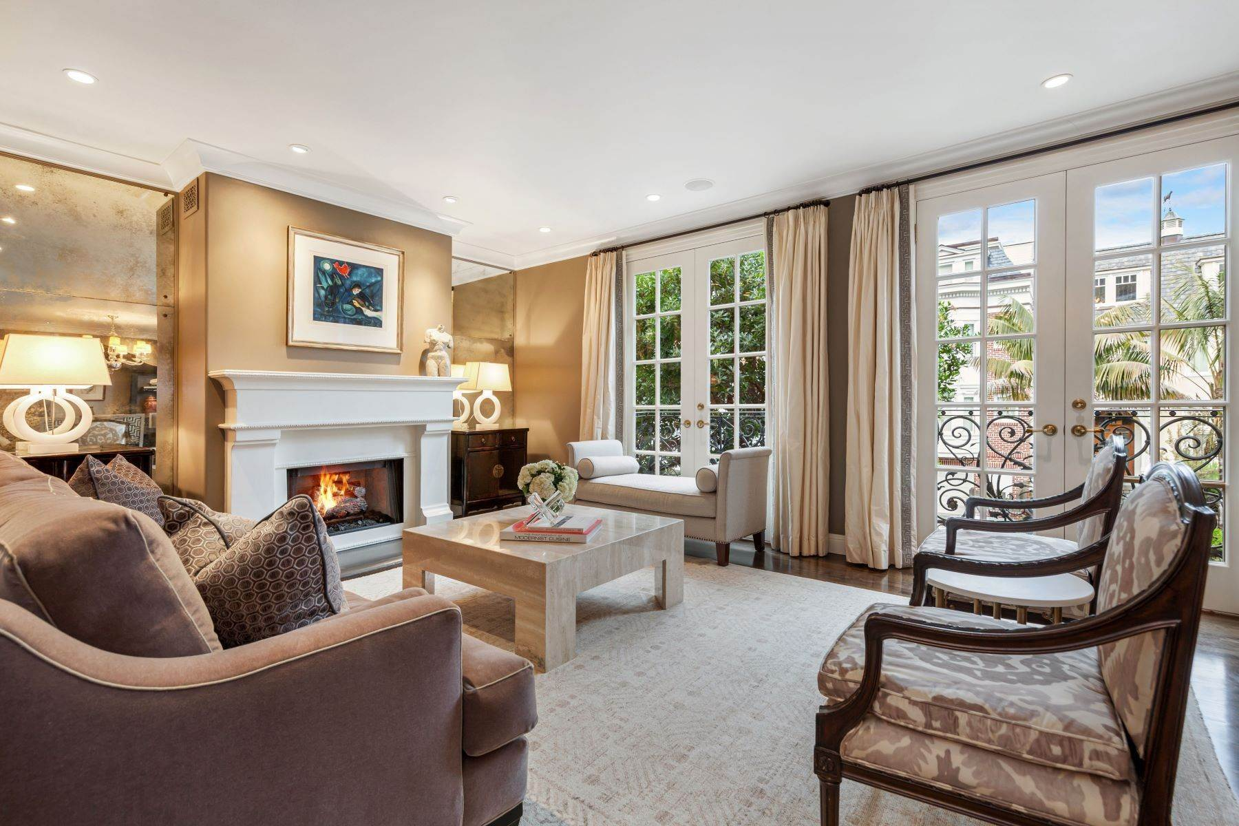 Property for Sale at Exquisite Cow Hollow Home 2775 Green St San Francisco, California 94123 United States