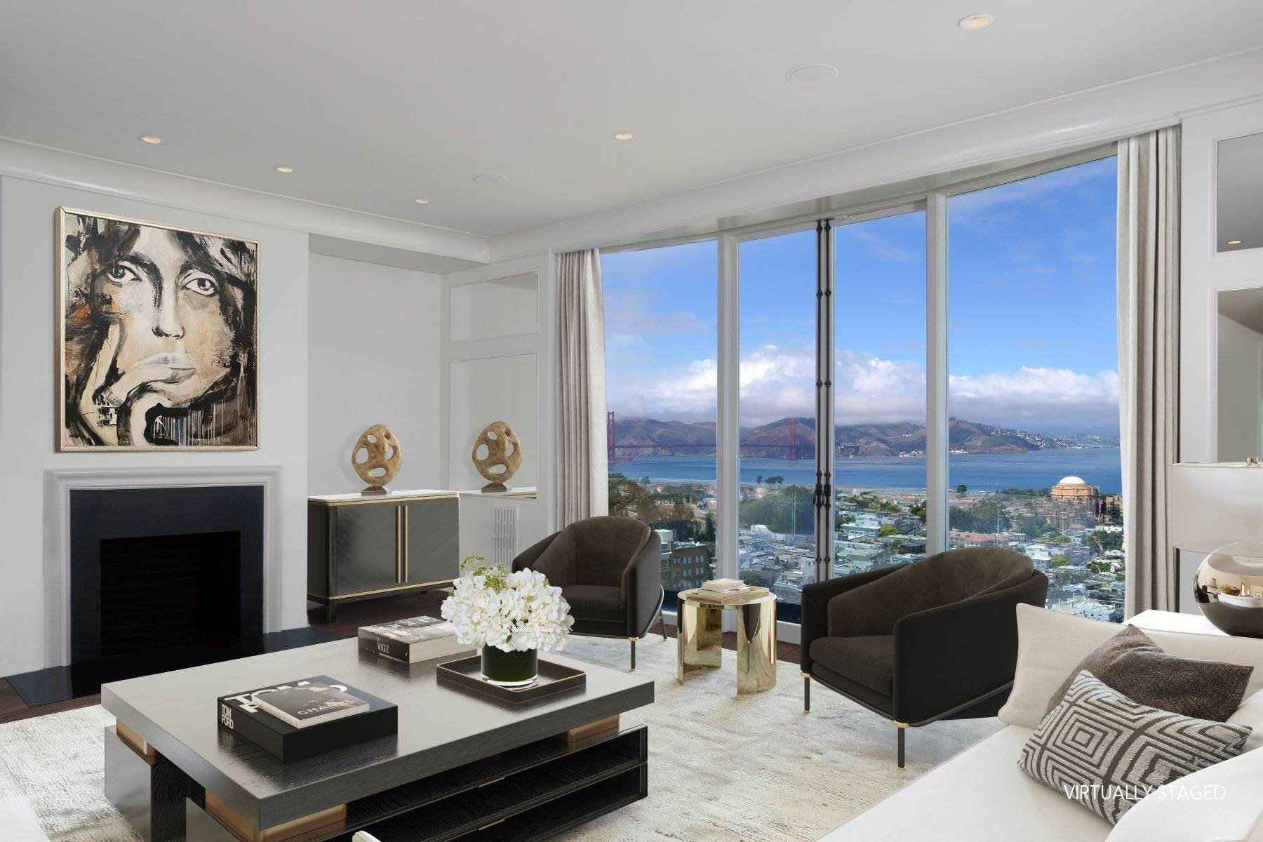 Property for Sale at Elegant Gold Coast Residence 2780 Broadway St San Francisco, California 94115 United States